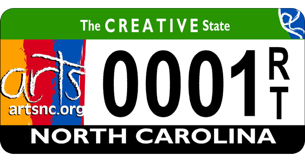 Arts Specialty License Plate